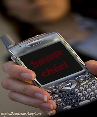 sms d'amour romantique
