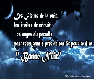 joli message d'amour - sms bonne nuit