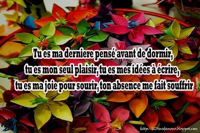 Doux messages d'amour - sms d'amour