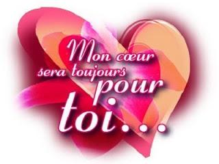 Petit message d'amour par sms