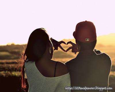 Lettre amour - sms d'amour