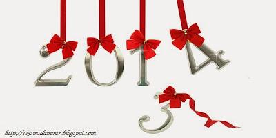 Modele sms original pour bonne année 2014