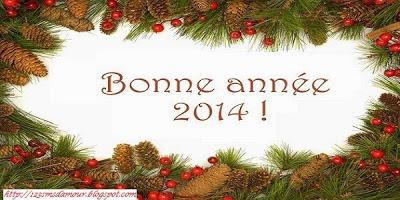 sms bonne année 2014 original