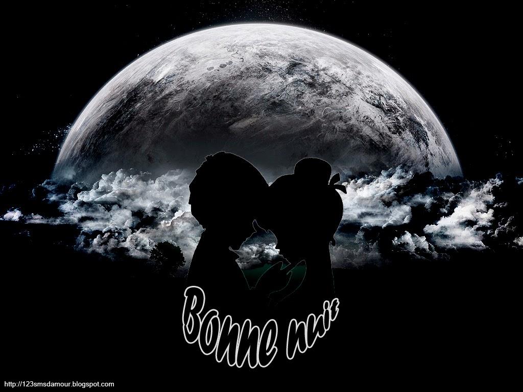 Message, texto et sms d'amour romantique bonne nuit
