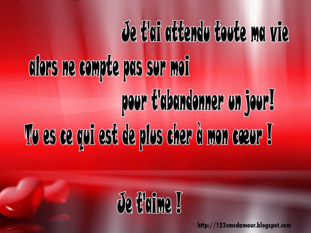 SMS d'amour en français rare