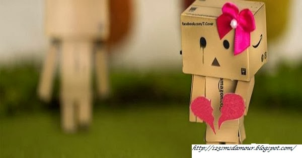 SMS d'amour regret et tristesse