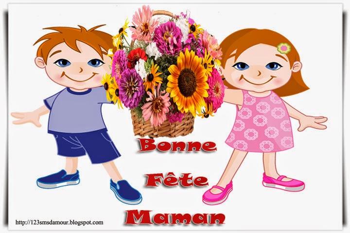 sms et message pour Souhaiter bonne fête maman