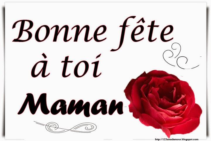 sms et message bonne fête pour maman