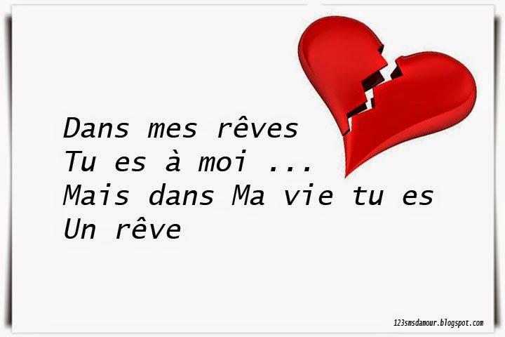 Phrases d 39 un coeur bris amourissima mots d 39 amour sms for Tu est le miroir de ma vie