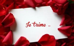 Belle lettre d'amour