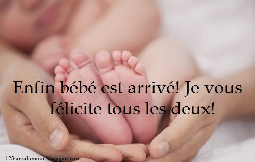 message naissance bébé fille