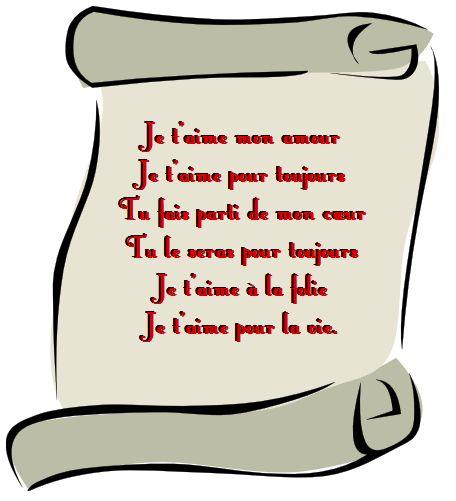 Petit poème d'amour