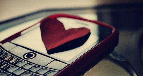 Message d'amour fou