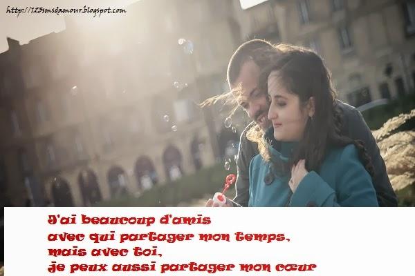 Phrase d'amour romantique