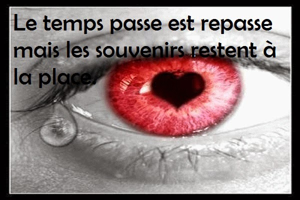 Message d'amour triste