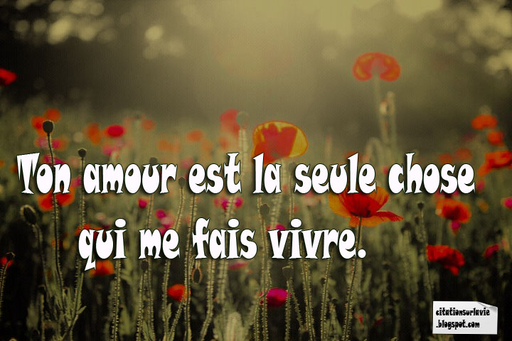 Les plus belle phrase d'amour Facebook