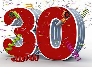 SMS pour souhaiter d'anniversaire 30 ans
