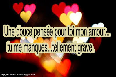 Un message d'amour