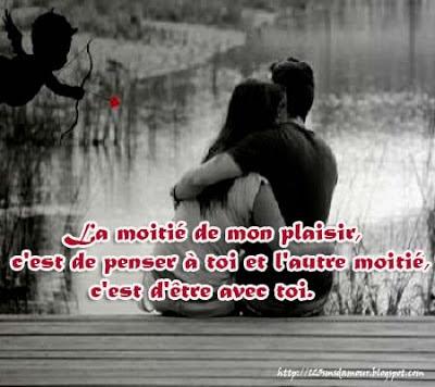 SMS d'amour pour les amoureux français