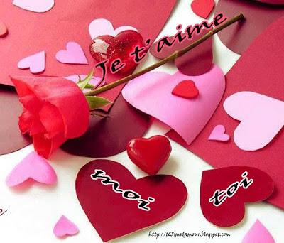 Message amoureux original
