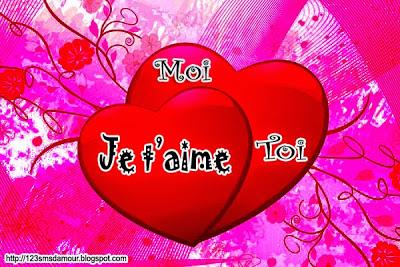 Message d'amour pour sa chérie
