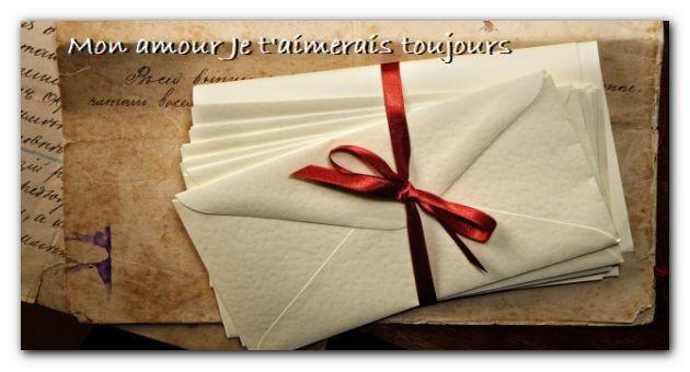 lettre d'amour pour lui