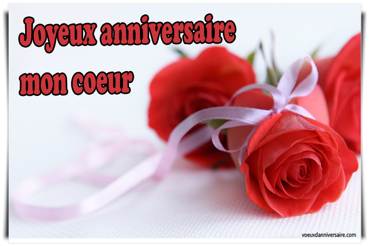 joyeux anniversaire message romantique