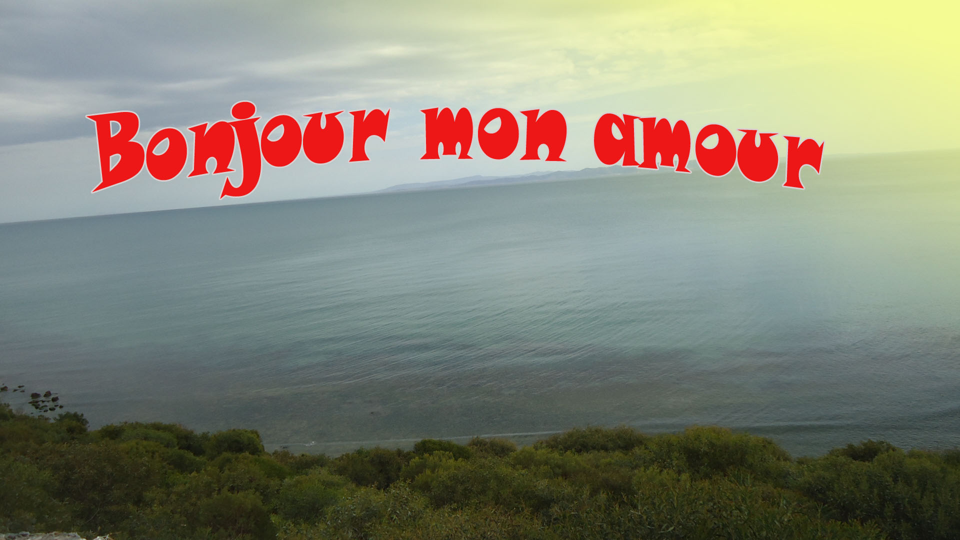 message damour matinal � sms bonjour mon amour