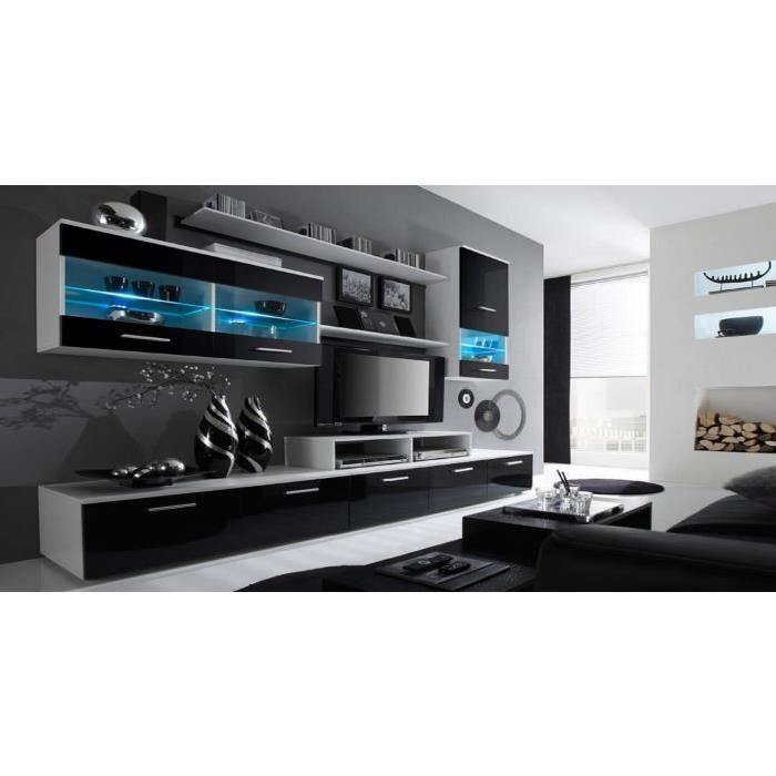 Parete Grigia In Soggiorno : Living meuble télé déco et pratique astuces pour femmes