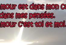 Amourissimacom Sms Damour Mots Message Poème Et